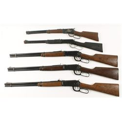 Lot of 5 Lever Action Daisy BB Guns