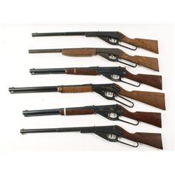 Lot of (6) Daisy BB Guns