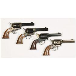 Lot of 4 Daisy Single Action Army BB Guns