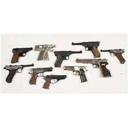 Lot of Toy Guns
