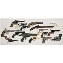 Lot of Toy Pistols