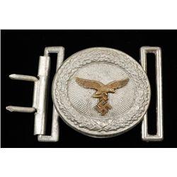 German WWII luftwaffe Officers Belt Buckle