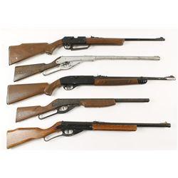 Lot of (5) BB Guns