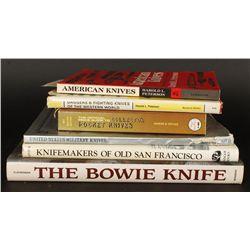 Lot of Knife Books