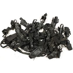 Large lot of Police type Holsters
