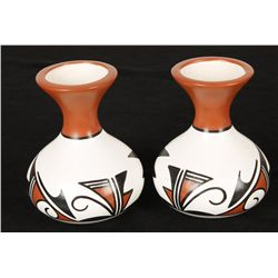 2 Small Hopi Pots by J. Joiola