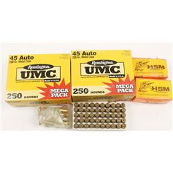 Lot of .45 ACP Ammunition