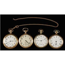 Lot of 4 Pocket Watches
