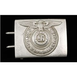 German WWII Wffen SS Enlisted Mans Belt Buckle