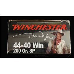 Box of Winchester .44-40 Commemorative Ammo