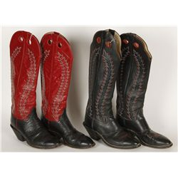 Lot of (2) Hondo Cowboy Boots