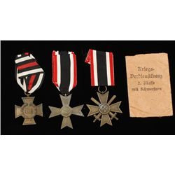 German WW2 2nd Class War Service Cross with Swords