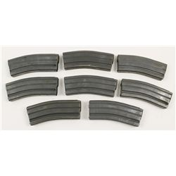 Lot of 8 Aftermarket 30-Round AR15 Magazines