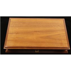 Wooden Hinged-Top Box