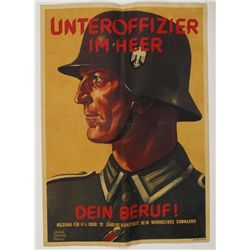 German WWII Army Recruiting Poster