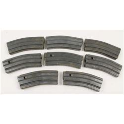 Lot of 8 Aftermarket AR15 30-round Magazines