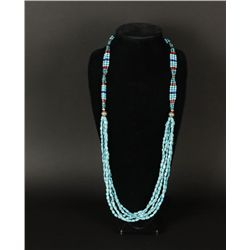 Four Strand Turquoise Necklace