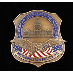 1993 Inauguration of President D.C. Police Badge