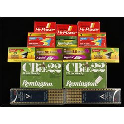 Lot of 22 (NOT LR or High Velocity) Ammunition