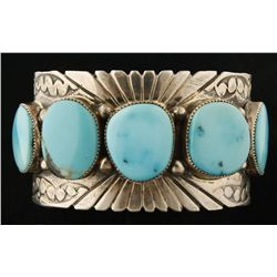 Gorgeous Sleeping Beauty Turquoise Cuff