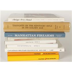Lot of (9) Firearms Related Books