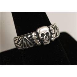 Boxed German WW2 Waffen SS Officers Honor Ring