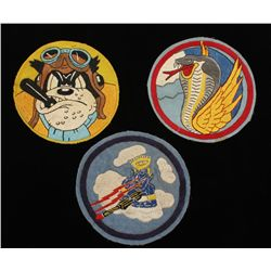 3 USAAF WW2 Army Air Corps Fighter Squadron