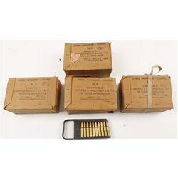 Lot of 7.35mm Italian Ammo