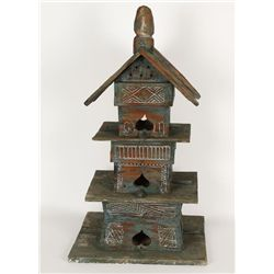 Asian Antique Bird house