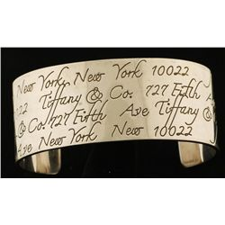 "Tiffany & Co ""Notes"" Cuff Bracelet"