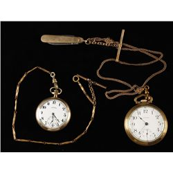 Lot of (2) Pocket Watches