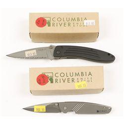 Lot of (2) CRKT Knives