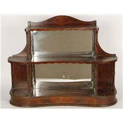 Antique Maple Knick Knack Shelf