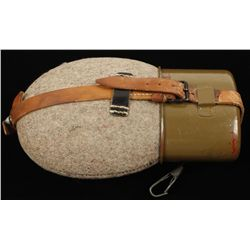 German WWII Army Combat Field Canteen