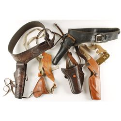 Lot of  Leather Holsters and Rigs