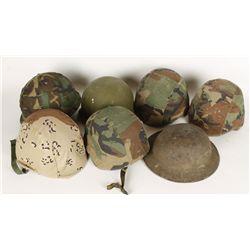 Military Helmet Lot