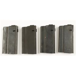 Lot of 4 Armalite AR-10 Mags
