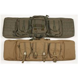 2 Tactical Rifle Soft Cases.