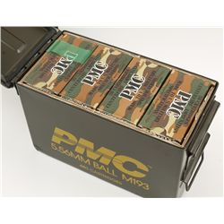 Metal Ammo Can of 5.56 Ammunition