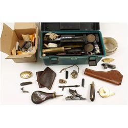 Bonanza lot for Cap and Ball Re-enactor