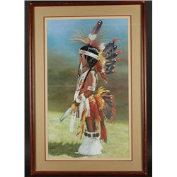 Lot of 4 Native American Prints