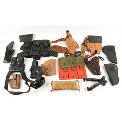Holsters, Magazine Pouches, Picatinney grip/bipod