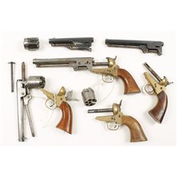 Lot of Percussion Revolver Parts