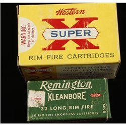 Small Lot of Rimfire Ammunition