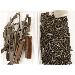 Lot of Gun Bolts and Screws