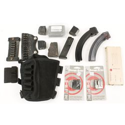 Lot of Magazines and Ammunition Pouches