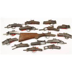 16 Single Shot Shotgun Receivers Various makers