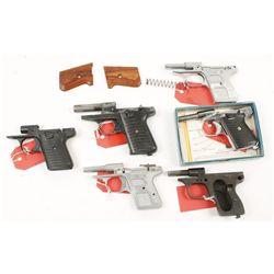 Various Pistol Frames Semi Auto