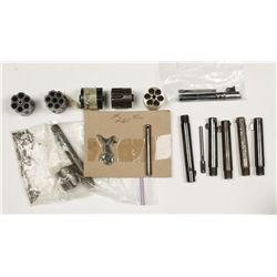 Lot of Single Action Revolver Parts