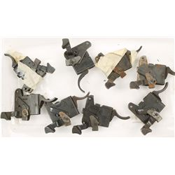 Lot of 8 Rifle Triggers